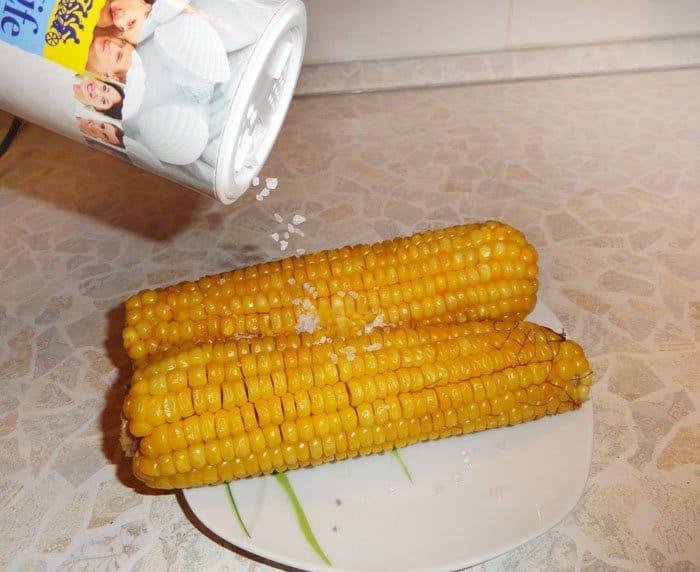 Фото рецепта - Вареная кукуруза - шаг 2