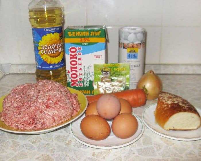 Фото рецепта - Гнезда из фарша с яйцом - шаг 1