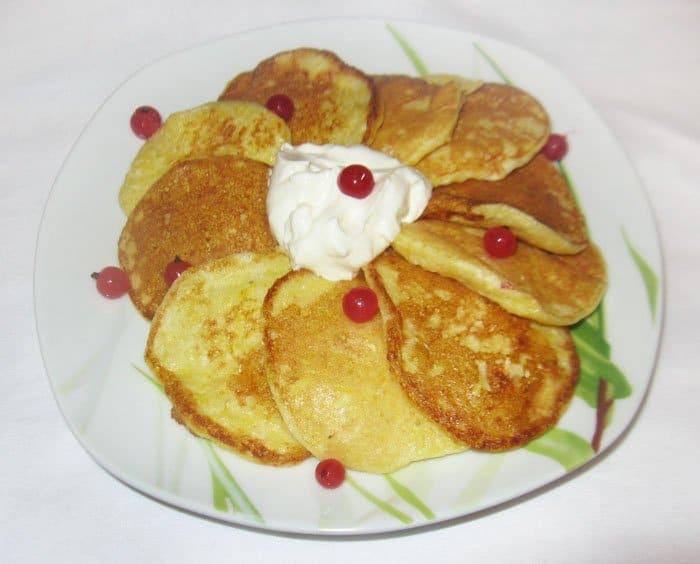 Оладьи из тыквы на молоке - рецепт с фото
