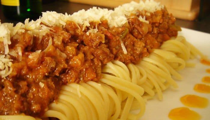Запеканка из овощей с говядиной и спагетти, пошаговый рецепт с фото
