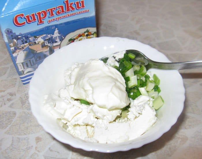 Фото рецепта - Тарталетки с тунцом и сыром Фета - шаг 1