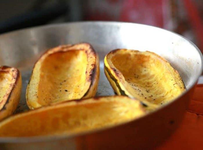 Фото рецепта - Тыква, фаршированная грибами и рисом - шаг 1