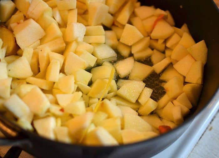 Фото рецепта - Яблочное пюре - шаг 3