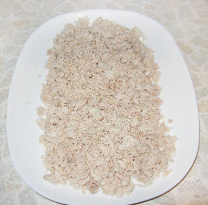 """Салат """"Белая береза"""" – кулинарный рецепт"""