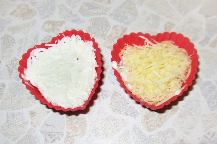 Фото рецепта - Салат-мини Сердце - шаг 2