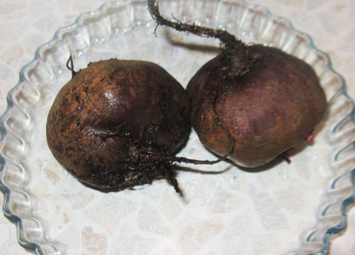 Фото рецепта - Свекольный салат с апельсином и рукколой - шаг 1