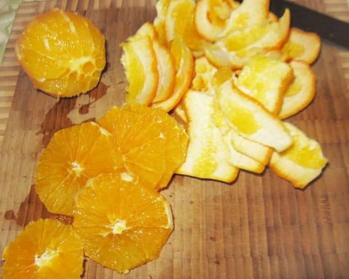 Фото рецепта - Свекольный салат с апельсином и рукколой - шаг 3