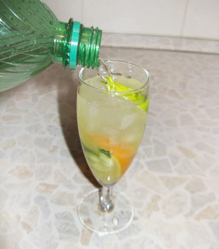 Фото рецепта - Огуречный лимонад - шаг 4