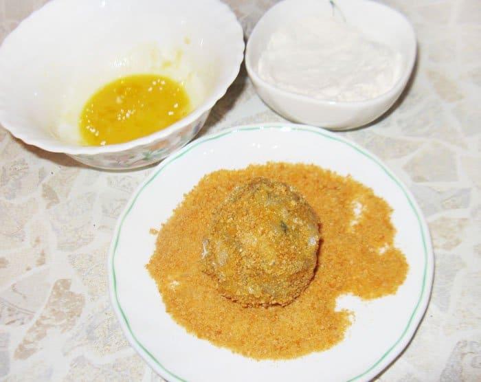Фото рецепта - Перепелиные яйца по-шотландски - шаг 5