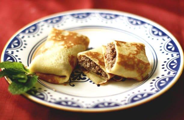 Блинчики, фаршированные мясом - рецепт с фото