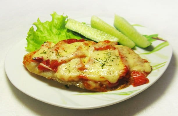 Нежная рыба с болгарским перцем - рецепт с фото