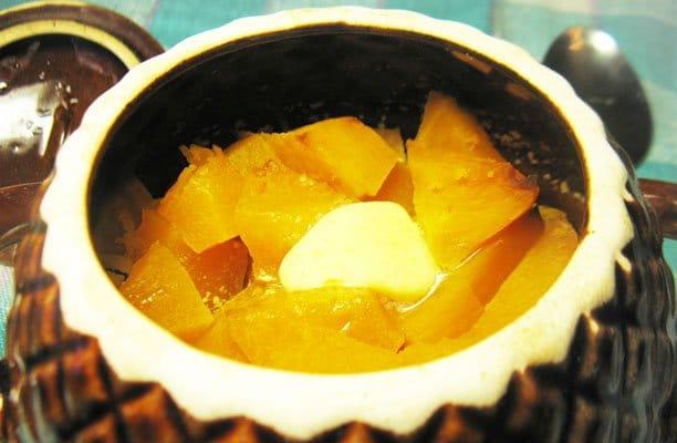 Тыква, запеченная в горшочке - рецепт с фото