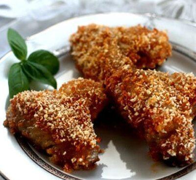 Куриные крылышки, запеченные в духовке - рецепт с фото