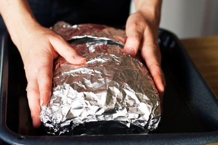 Фото рецепта - Слоеный сырный пирог с куриным фаршем - шаг 10