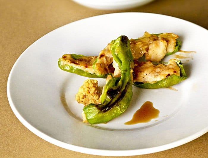 Фото рецепта - Японский перец, фаршированный куриным мясом - шаг 4