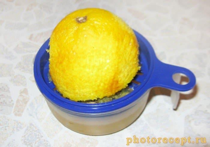 Фото рецепта - Куриная грудка в апельсиновом маринаде с запеченной грушей - шаг 2