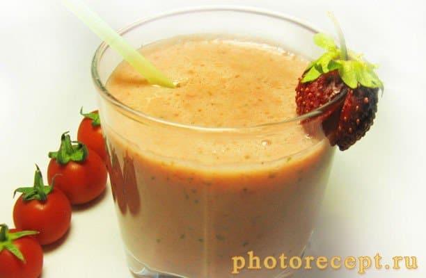 Томатно-клубничный смузи - рецепт с фото