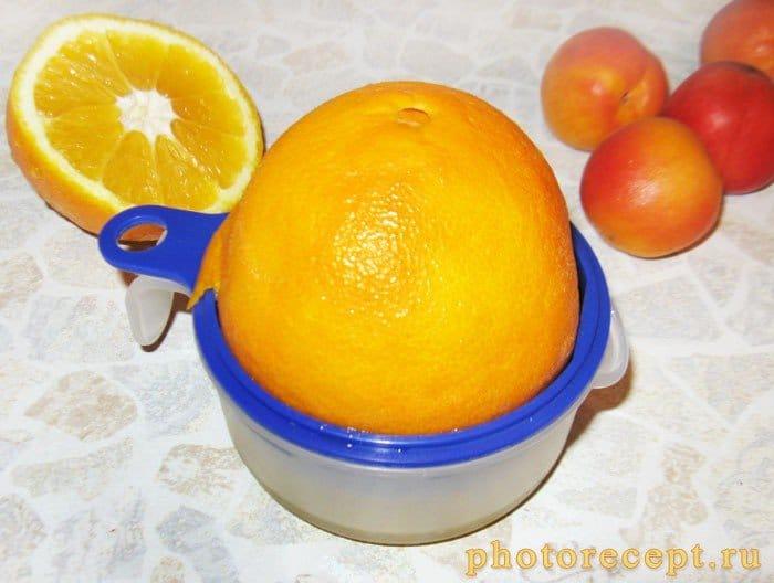 Фото рецепта - Десерт из фламбированных абрикосов с мороженым - шаг 1