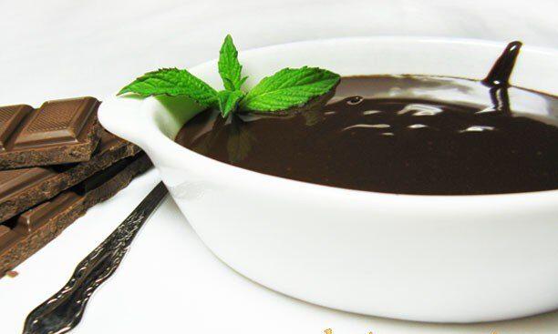 Ганаш-шоколадный крем на сливках