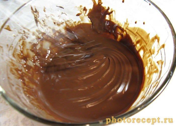 Фото рецепта - Ганаш-шоколадный крем на сливках - шаг 3