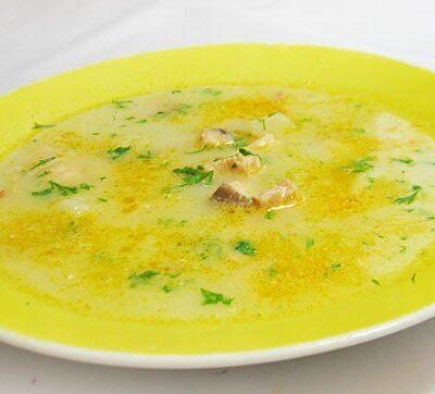 Сливочный суп с семгой - рецепт с фото