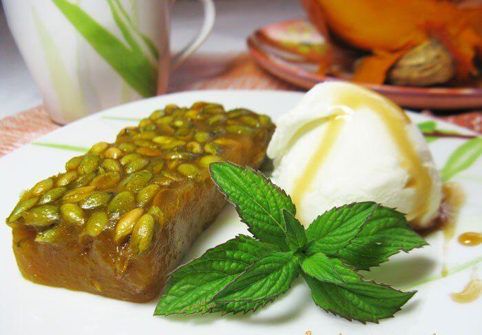 Тыквенный сладкий десерт