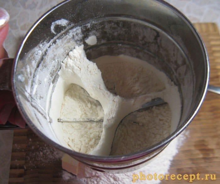 Фото рецепта - Пирог со сливами - шаг 2