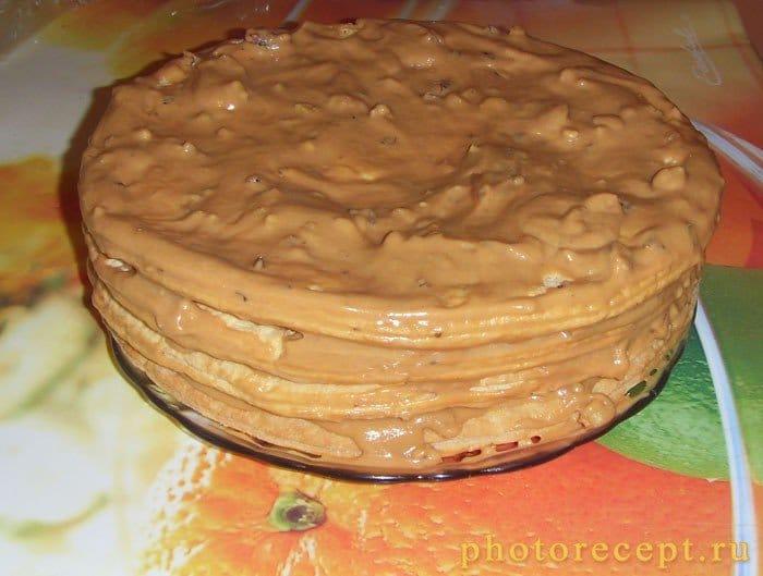 Фото рецепта - Торт Наполеон из слоеного теста - шаг 3