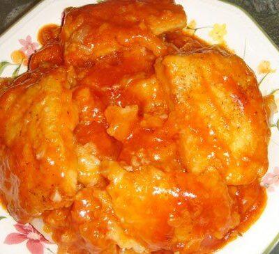 Тушеная рыба в томатном соусе - рецепт с фото