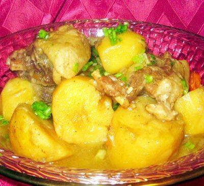 Жаркое с бараниной и овощами по-домашнему - рецепт с фото