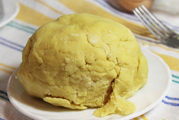 Фото рецепта - Пирог-крошка из песочного теста со смородиной - шаг 1
