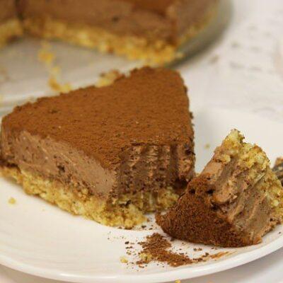 Шоколадный чизкейк - рецепт с фото