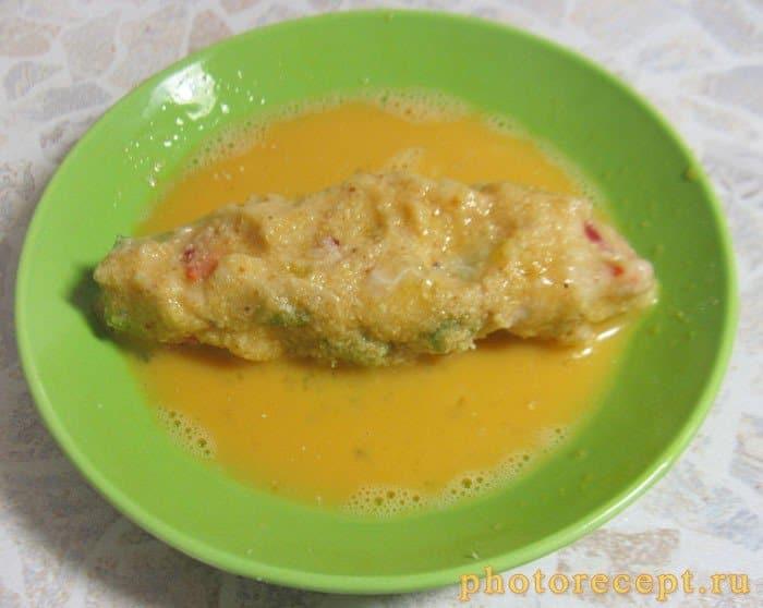 Фото рецепта - Рыбные котлеты из муслина с болгарским перцем - шаг 4