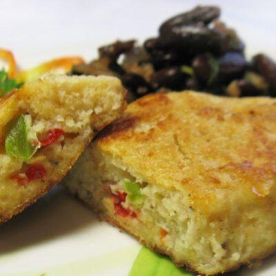 Рыбные котлеты из муслина с болгарским перцем - рецепт с фото