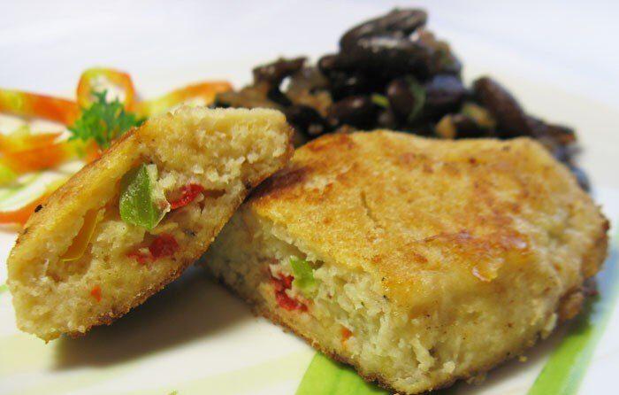 Рыбные котлеты из муслина с болгарским перцем
