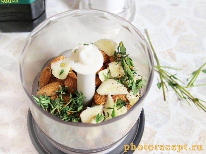 Фото рецепта - Куриное филе в миндальной крошке - шаг 2