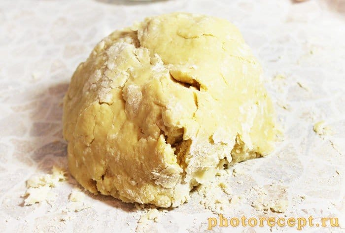 Фото рецепта - Пирог с франжипаном и ежевикой - шаг 4