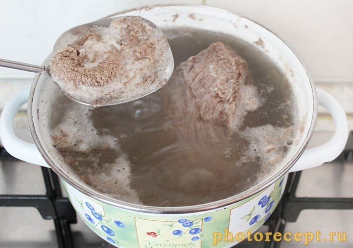 Фото рецепта - Отварная говядина - шаг 3