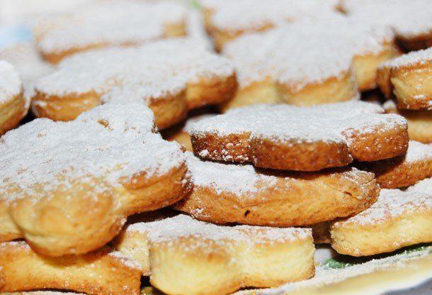 Песочное печенье к чаю на скорую руку