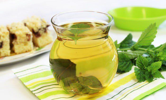 Чай с медом-Мятный микс
