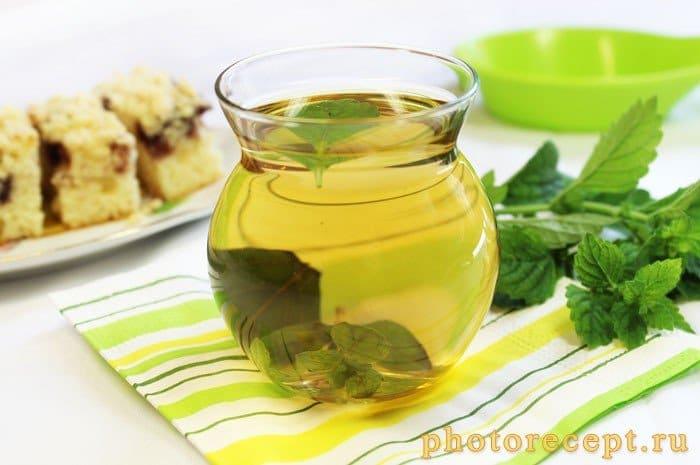 Чай с медом-Мятный микс - рецепт с фото