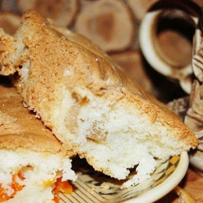 Бисквит с яблоками и тыквой - рецепт с фото