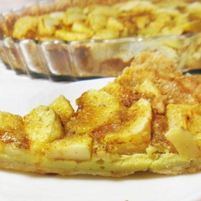 Сладкий тарт с яблоками - рецепт с фото
