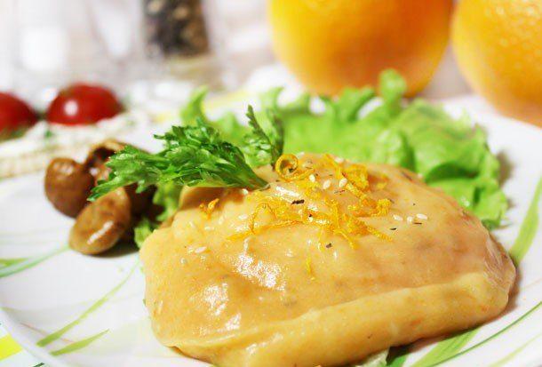 Восточное картофельное пюре с морковью и кунжутом