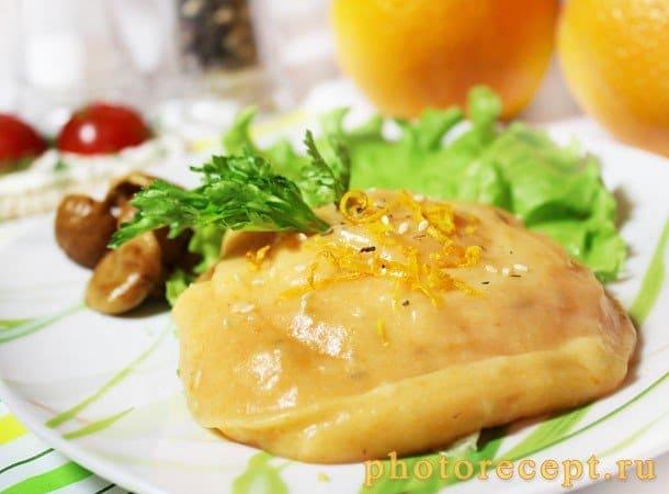 Восточное картофельное пюре с морковью и кунжутом - рецепт с фото