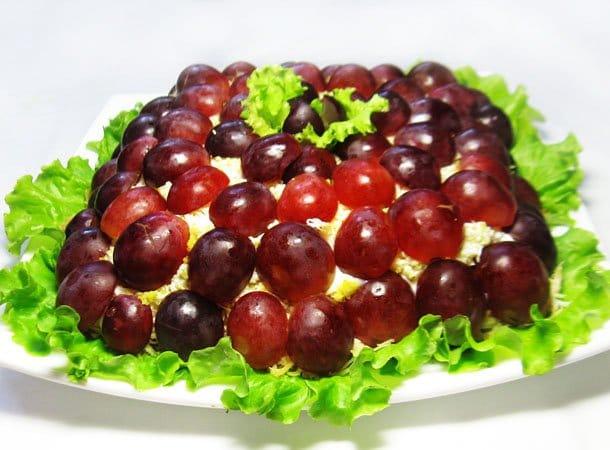 Салат Тифани - рецепт с фото