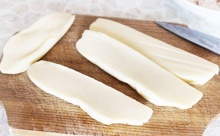 Фото рецепта - Жареный сыр сулугуни - шаг 3