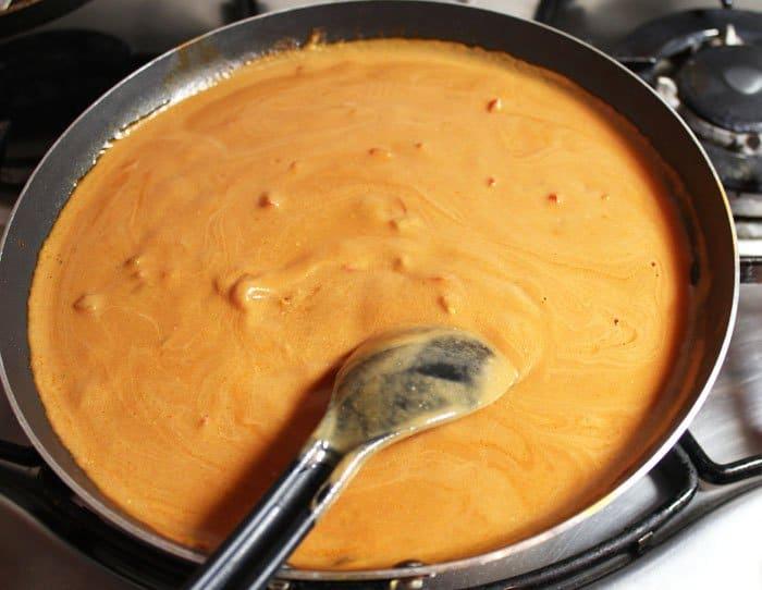 Фото рецепта - Каннеллони с брокколи и цветной капустой под томатным соусом - шаг 5