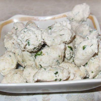 Куриные клецки (как приготовить) - рецепт с фото