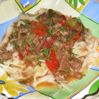 Лагман по-узбекски - рецепт с фото